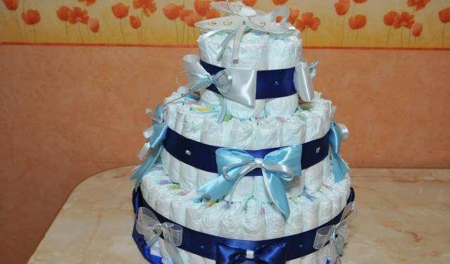 Торт из памперсов своими руками цены