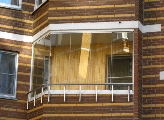 Виды остекления балконов как застеклить эркерный балкон
