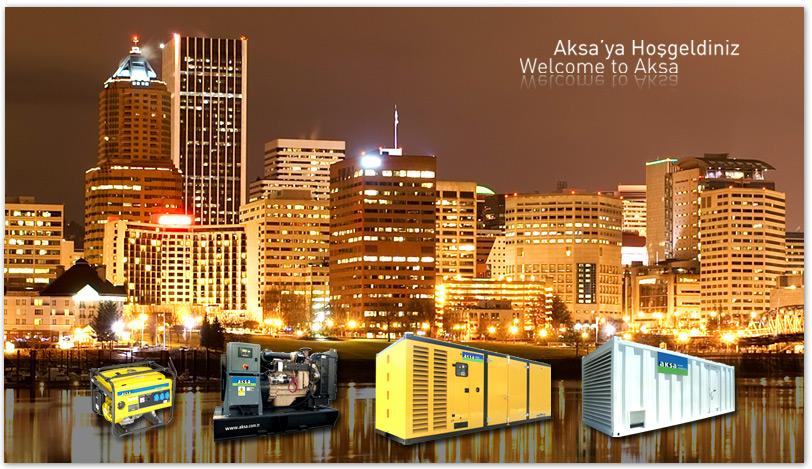 Все серии генераторов AKSA
