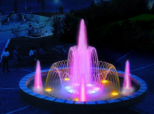 Цветомузыкальные фонтаны своими руками для дома