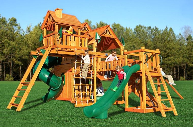 Игровые комплексы для детей для дачи своими руками