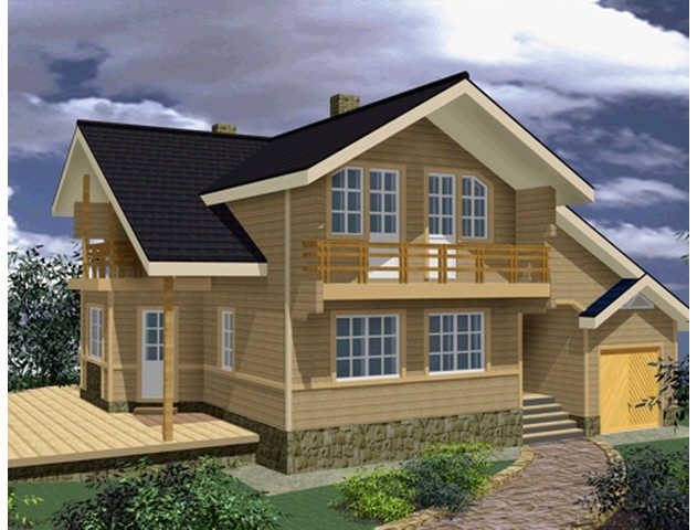 проэкты готовых домов: