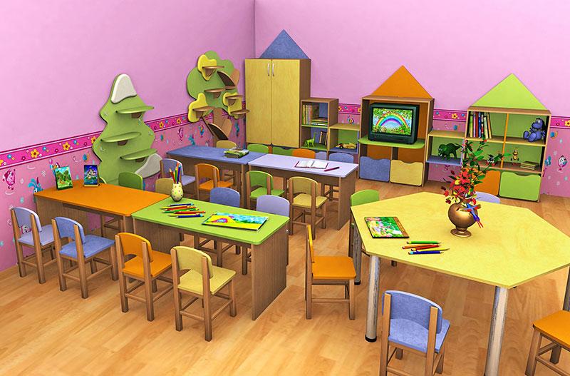 Столик для детского сада