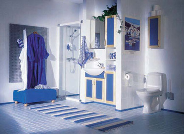 в списке услуг установку сантехнического оборудования мебели для ванных