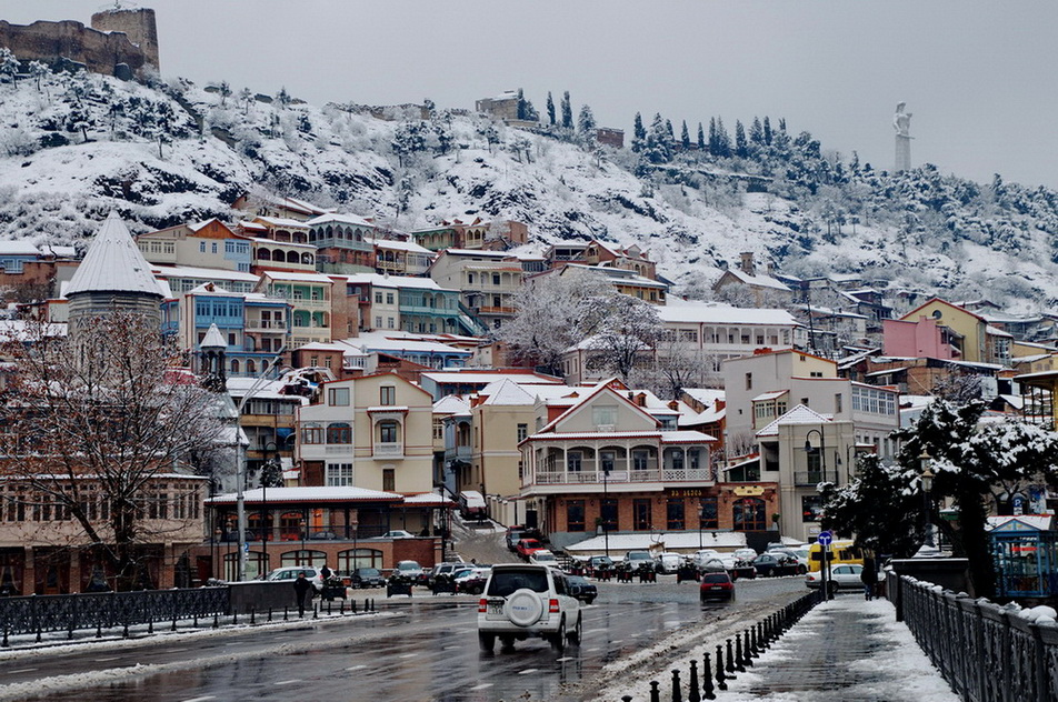 Image result for Зимний Тбилиси фото